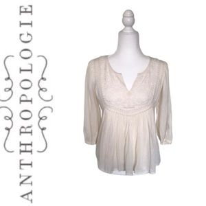 Anthropologie Lace Blouse by Leifnotes | 2